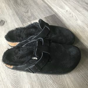 Birkenstock Shoes - Birkenstocks with fur